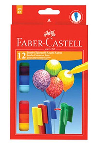 Faber Castell Eğlenceli Keçeli Kalem Jumbo 12 Renk