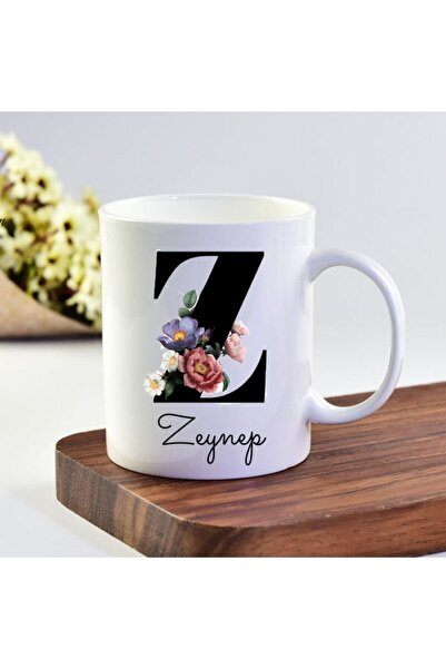 eKUPAM Zeynep Isimli Z Baş Harf Kupa Bardak - 0548