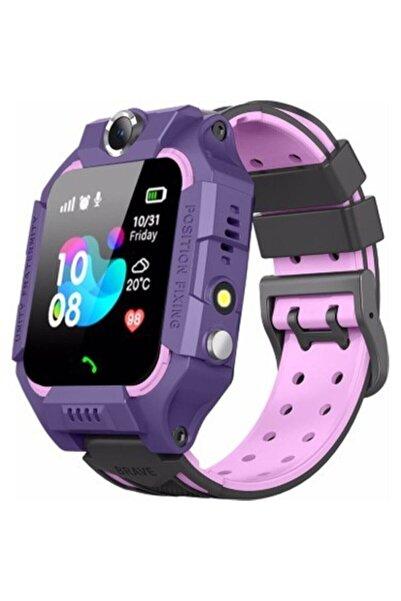 Fitbit Unisex Mor Smartcell Türkçe Menü Imei Kayıtlı  Sim Kartlı  Akıllı Çocuk Saati