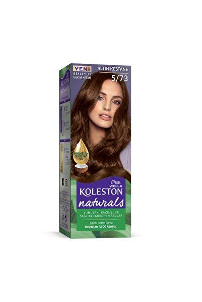 Koleston Naturals 5/73 Altın Kestane