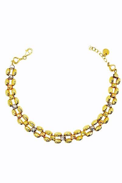 CiGOLD 14 Ayar Altın Taşlı Bileklik 19k1blk0852066089