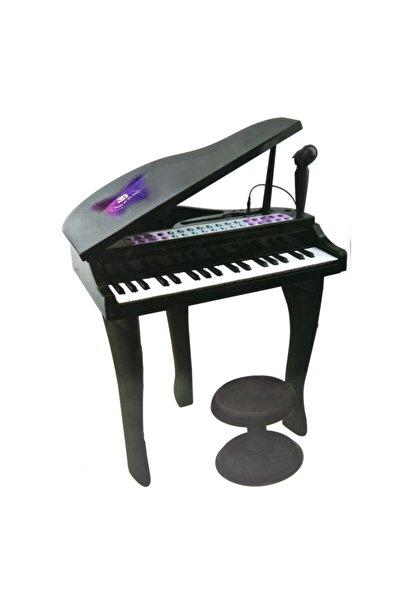 Vardem 37 Tuşlu Mini Piano Mikrofonlu Ve Tabureli Çocuk Piyano Siyah-88022