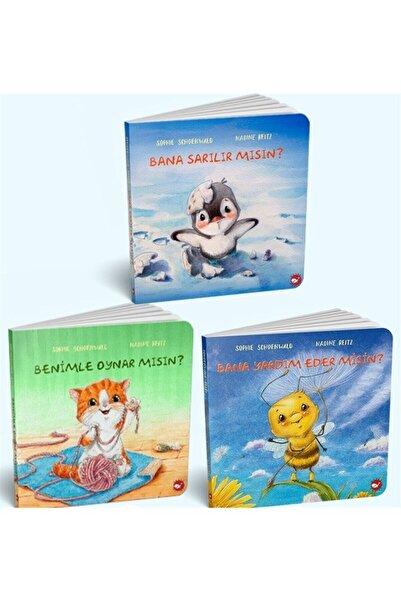 Beyaz Balina Yayınları 0-3 Yaş Resimli Interaktif Çocuk Kitapları Set 2 (3 Kitap Takım) - Sophie Schoenwald 9789974717404