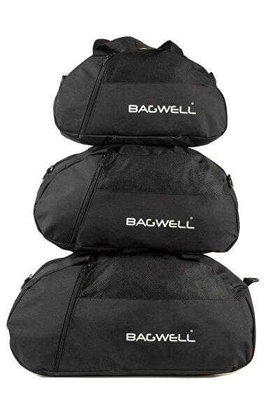 BAGWELL 3'lü Set Spor Ve Seyahat Çantası