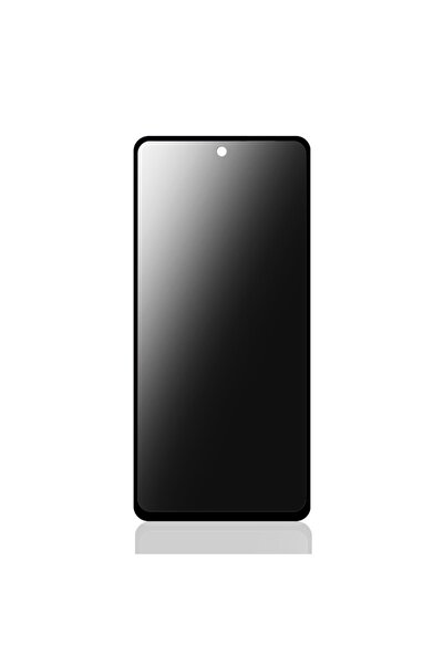 Bufalo Xiaomi Redmi Note 10 Pro Uyumlu Hayalet Privacy Gizli Cam Ekran Koruyucu Siyah