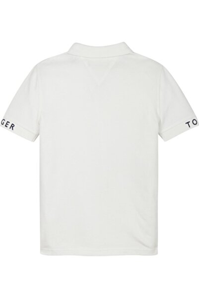 Tommy Hilfiger Sleeve Text Polo T-shirt
