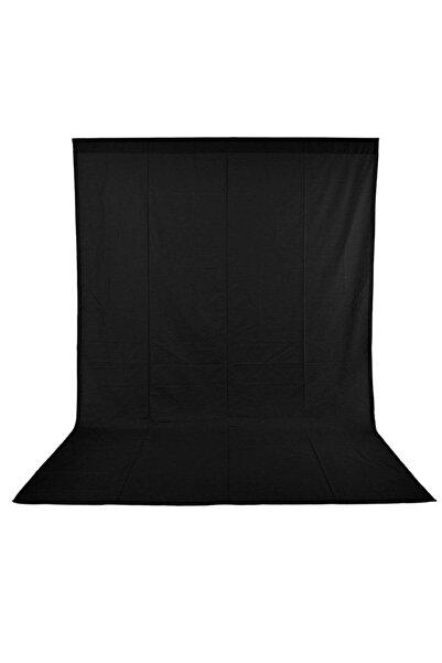 Lens Black Screen Siyah Fon Perde 150x200 cm Ürün Fotoğraf Çekimi Stüdyo Youtube Tiktok Için Arkaplan