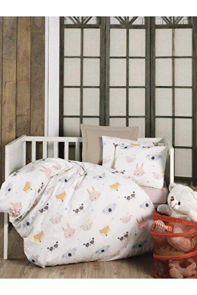 Kardelen %100 Pamuklu Bebek Yatak Çarşafı Örtüsü