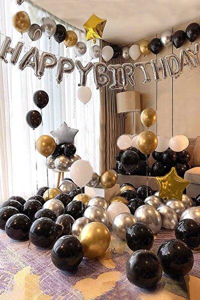 Parti dolabı Yetişkin Doğum Günü Seti Işıklı Doğum Günü Seti Pompa