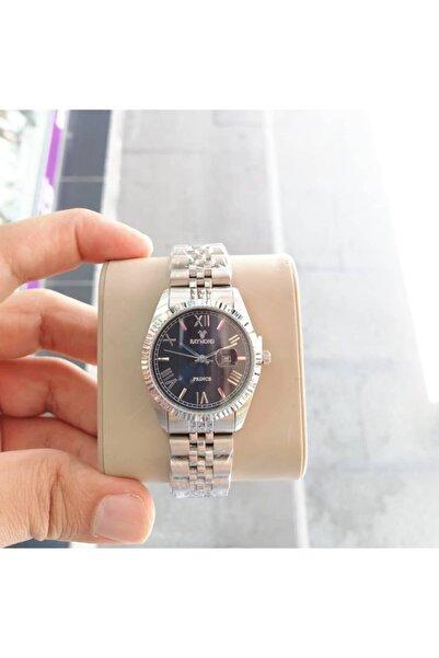 Raymond Kadın Çelik Takvimli Kol Saati