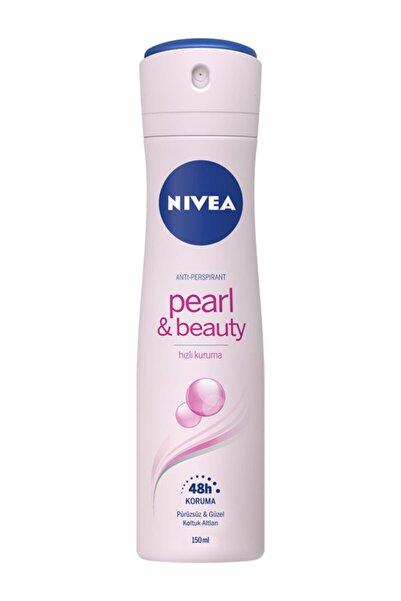 Nivea Pearl & Beauty Sprey Kadın Deodorant 150 Ml X 3