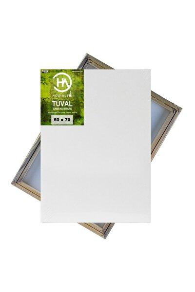 Hobialem Tuval, 50x70 Cm, Öğrenci Tipi, Resim Tuvali, Ahşap Çerçeve, Tual