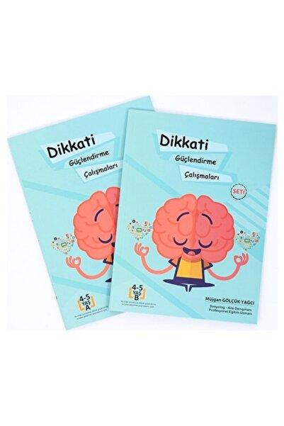 Kontrol Yayıncılık Zekare 4-5 Yaş Dikkati Güçlendirme Çalışmaları