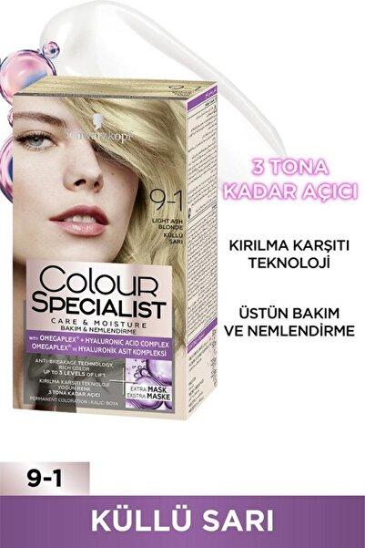 Colour Specialist Küllü Sarı 9-1 Saç Boyası
