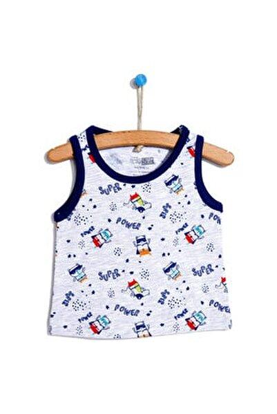 Basic Erkek Bebek Atlet Tshirt
