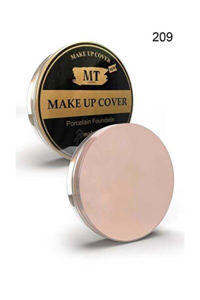 Makeuptime Mt Porselen Fondöten Make-up Cover 209 Açık Ton
