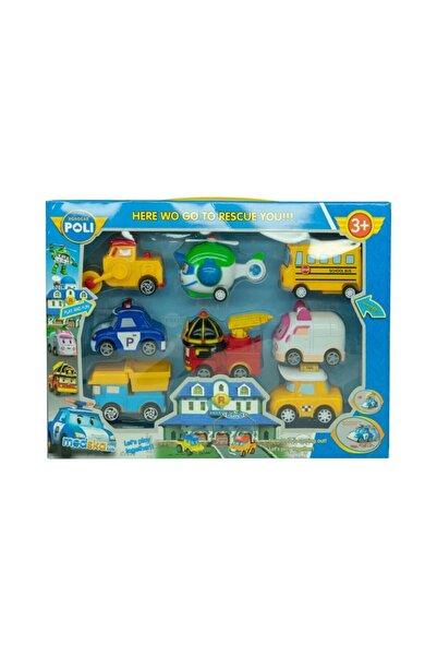Robocar Poli Oyuncak 8li Set