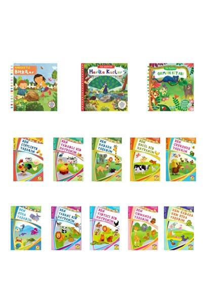 İş Bankası Kültür Yayınları Çocuklarımızın Severek Okuyacağı Muhteşem Seri 3 Hareketli + 10 Rengarenk Öykü Kitabı