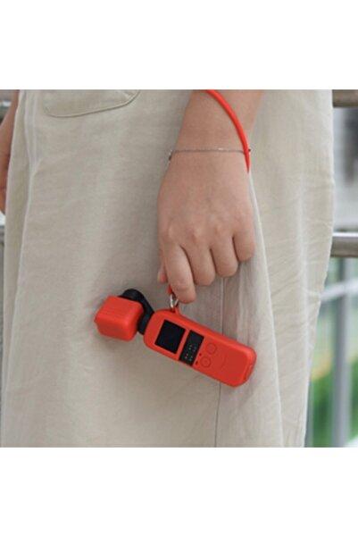 CepEvi Dji Osmo Gimbal Pocket Koruyucu Silikon Kılıf+el Boyun Strap A