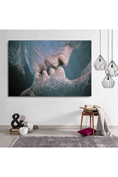 Resimli Tablo Soyut Nü Dekoratif Kanvas Tablo Premium Kalite