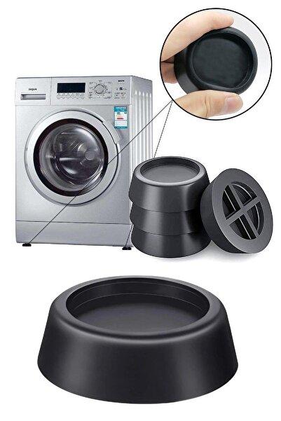 BİTERSE 4 Adet Çamaşır Makinesi Buzdolabı Titreşim Önleyici Pedler