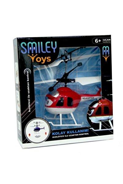 Smiley Toys Sensörlü Uçan Süper Helikopter  El Kontrollü Şarjlı Sensörlü Uçan Helikopter
