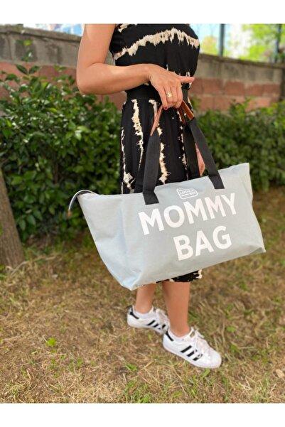 WolMer Bags Kadın  Gri Anne Bebek Bakım Çantası