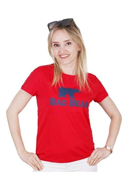Bad Bear Logo Tee Kadın T Shirt 21.03.07.010