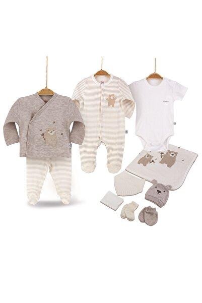Bimini Joyful Teddy Erkek Bebek Pamuk Hastane Çıkışı 10lu Set