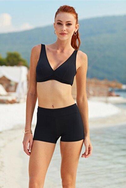 Kom Kadın Lacivert Ivon Bikini Takımı