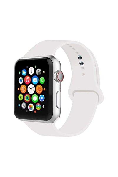 Cimricik Apple Watch Uyumlu Kordon 2 3 4 5 Seri 42 Mm Ve 44 Mm Silikon Kordon Kayış
