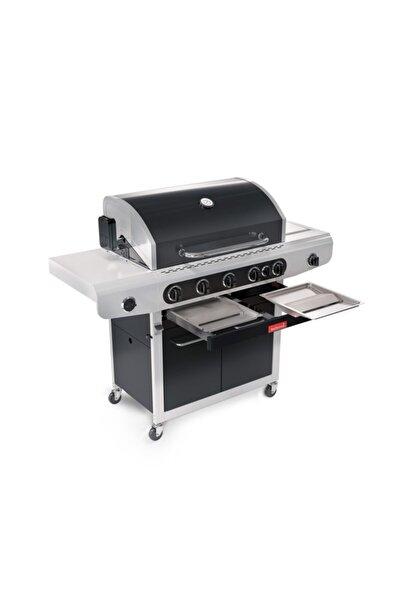 Barbecook Siesta 612 Black Edition Gazlı Siyah Mangal 143x56x120 Cm