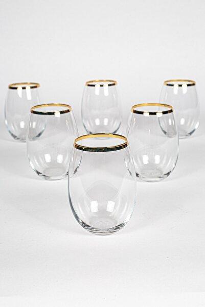 Rakle Astoria Gold 6'lı Su Bardağı Seti 350 Cc