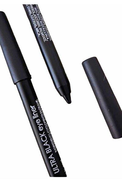 Flormar Kozmetik Yağlı Ultra Siyah Göz Kalemi 1 Adet