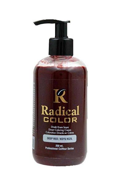 Radical Color Koyu Kızıl Color Su Bazlı Saç Boyası 250 ml