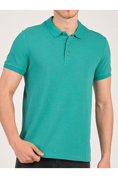 Cazador Erkek Nefti Polo Yaka T-shirt