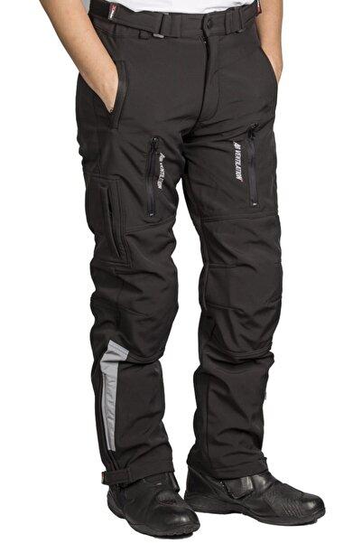 AnkaShop Motosiklet 4 Mevsim Ce Sertifikalı Korumalı Pantolon Softjel Kumaş Full Koruma Motor Pantolonu