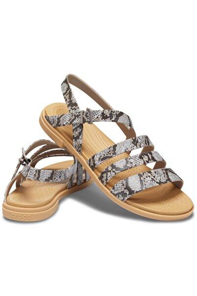 Crocs Tulum Sandal W - Mantar/sıva Rengi