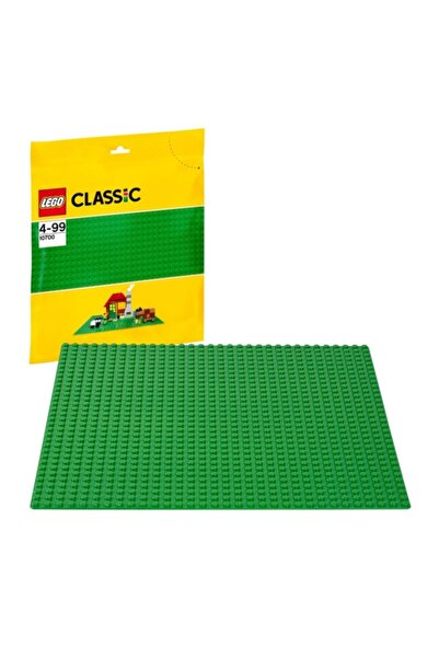 LEGO Classic Yeşil Zemin 10700   4+ Yaş Için Tasarım Alanı 25,5 X 25,5 cm (1 Parça)