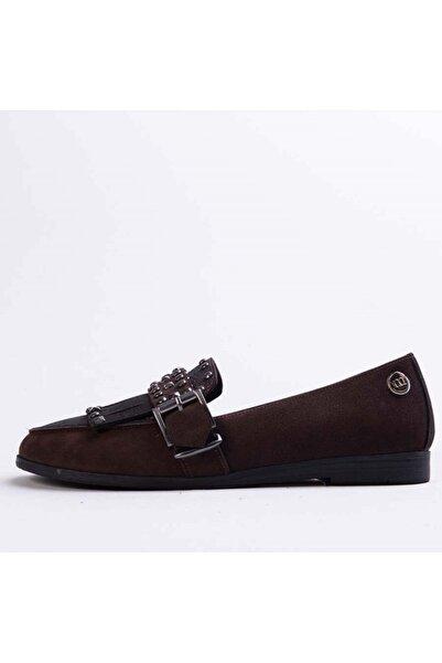 Mammamia D18ka-3335 Kadın Kahverengi Nubuk Ayakkabı