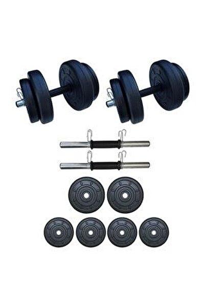 20 Kg Dambıl Seti Ağırlık Ve Vücut Geliştirme Aleti 20 Kg Spor Dumbell Set