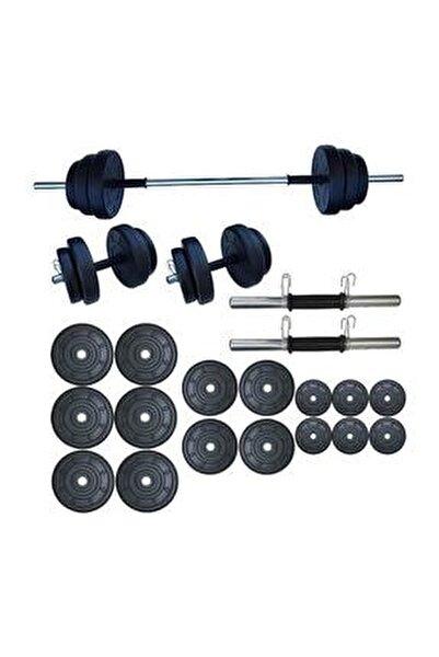 Halter Seti Dambıl Seti Ağırlık Ve Vücut Geliştirme Aleti 85 kg