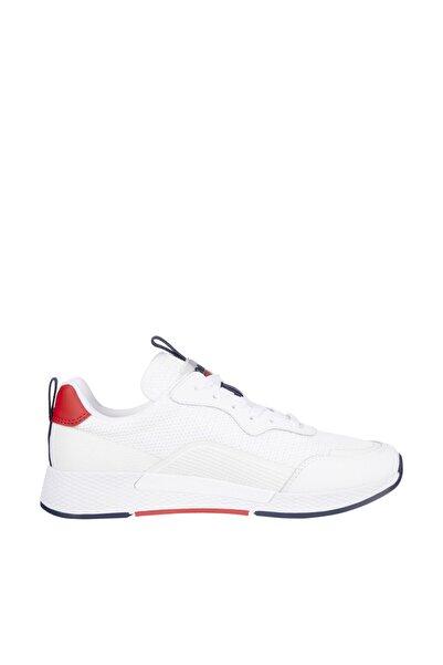 Tommy Hilfiger Kadın Mavi Sneaker Technical Detail Runner EN0EN01360
