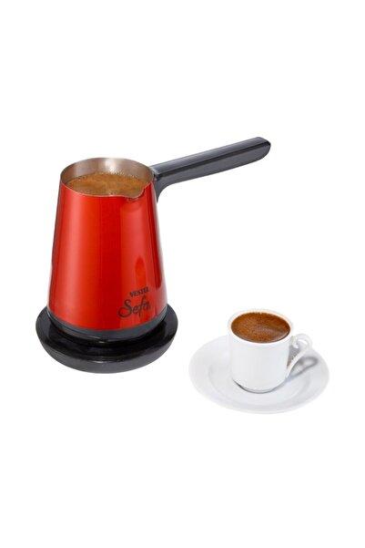 Vestel Sefa Kırmızı Inox Türk Kahvesi Makinesi