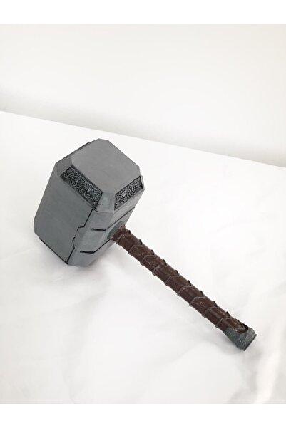 3 boyutlu dükkan Thor Mjolnir 23.5 Cm Model