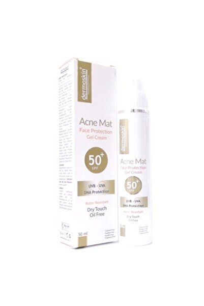 Dermoskin Acne Mat Face Protection Gel Cream Spf50+ 50ml