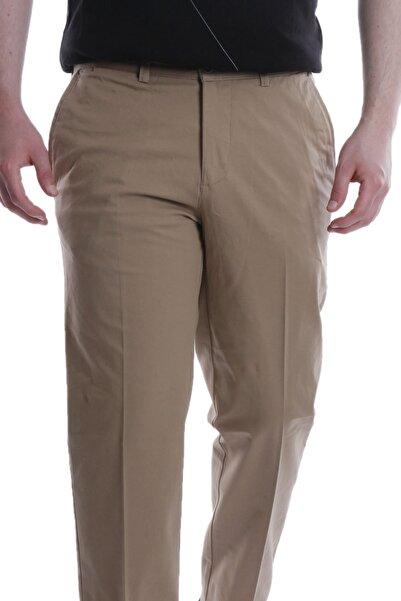 Canelia Camel Renk Klasik Kesim Yan Cep Erkek Pantolon
