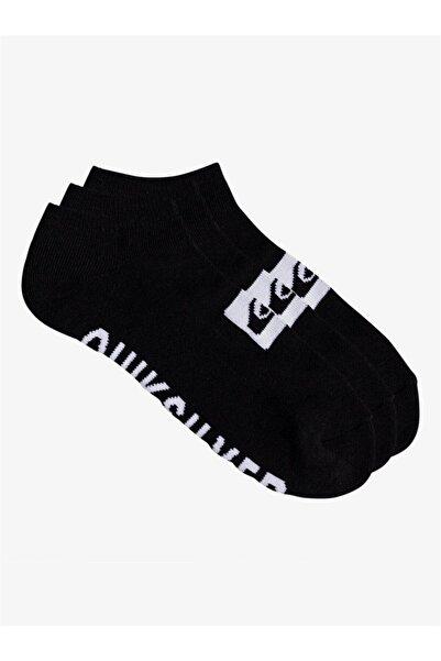 Quiksilver 3 Ankle Pack Unisex Çorap
