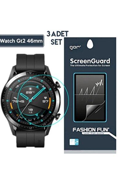Ally Gor Huawei Watch Gt 2 Pro Darbe Emici Ekran Koruyucu 3 Adet Set