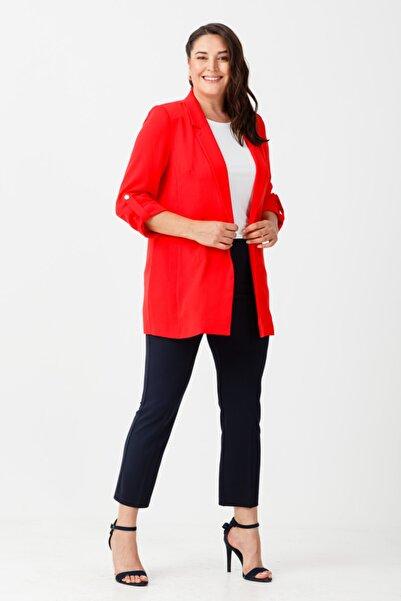 Ekol Çizgi Cep Ceket